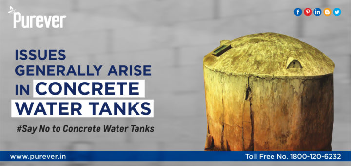 Issues with Concrete Water Tanks