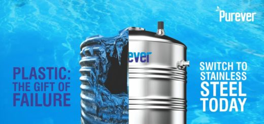 Purever Stainless Steel Water Tank