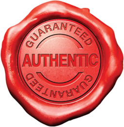 Authentic Guaranteed