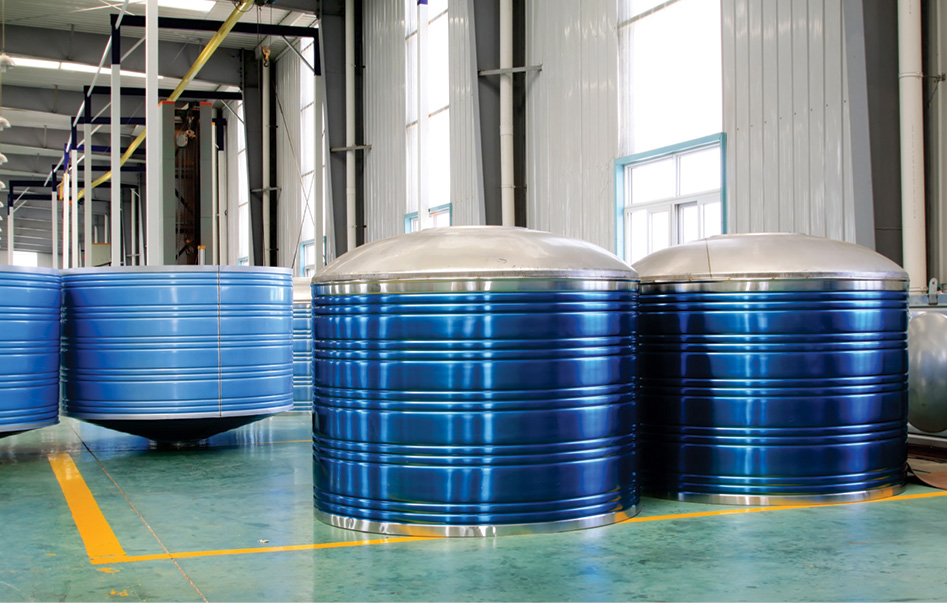 stainless steel water tankmanufacturing